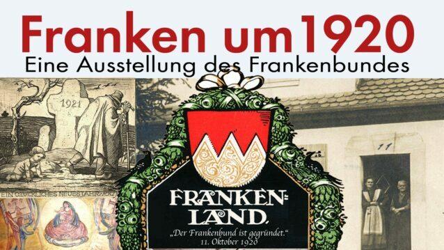 Franken um 1920 Ausstellungsplakat