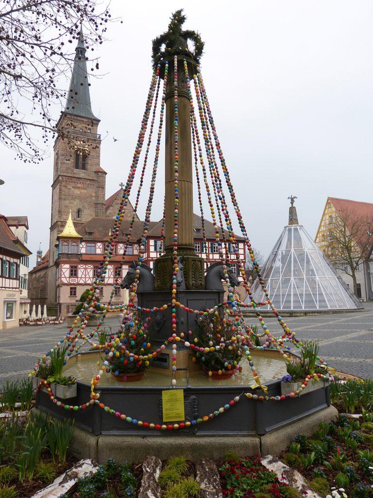 Nürnberg - Der Schwabacher Marktplatz an Ostern 2015
